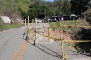 La emergencia se presentó en el sitio conocido como Caño Fisto