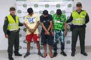 Ladrones capturados