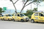 Taxistas de Ibagué