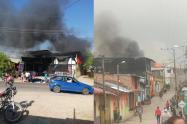 Bomberos y Defensa Civil atendieron los casos