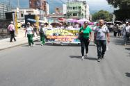Marcha Fecode Ibagué