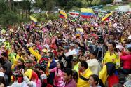 Habitantes en Colombia