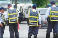 Agentes de tránsito de Ibagué