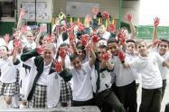 Estudiantes recibieron la ruta de acción en caso de estar en peligro de reclutamiento por parte de grupos armados o delincuencia común