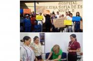 Se levantó paro en Hospital Reina Sofía de España de Lérida