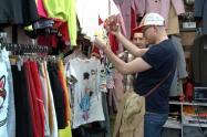 Jóvenes de compras