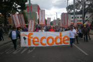 Manifestaciones de Fecode