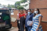 Bebé que estaba a punto de perder partes de su cuerpo fue trasladado a clínica de Bogotá