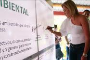 Directora del Cortolima firmó pacto por una educación ambiental
