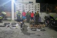Traficantes de Drogas Capturados en el Tolima