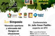No se pierda el primer Simposio para la atención oportuna del Dengue