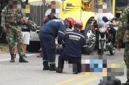 Accidente en Mariquita Tolima