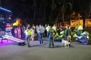 Operativos de seguridad en Ibagué
