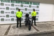 Moto robada en Ibagué