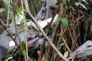 Accidente aéreo en el  Tolima