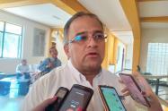Presidente de la Cámara de Comercio de Ibagué, Brian Bazin Bulla