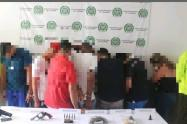 Estructura delincuencial presuntamente vinculada con hechos de alteración de orden público en la ciudad de la tambora