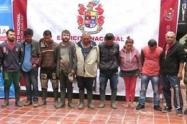 Las 11 personas capturadas fueron dejadas a disposición de la autoridad competente