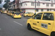 Paro de taxistas en Ibagué