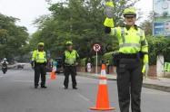 Con el aislamiento obligatorio a nivel nacional, la movilidad vehicular por las vías del departamento continúa restringidas