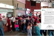 Terminal de trasporte de Ibagué sin servicio