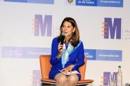 Vicepresidenta Marta Lucía Ramírez, presentó el primer Observatorio
