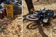 Murió motociclista en la variante de Chicoral