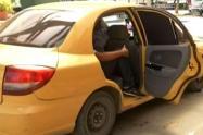 Robo a taxista