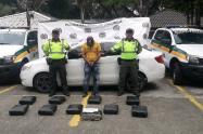 Capturado hombre transportaba marihuana en el norte del Tolima
