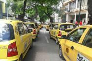 Paro de taxistas en Neiva durante 12 horas
