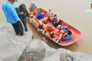 Salvaron a un hombre de morir ahogado en Flandes