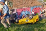 Accidente de Taxi en Ibagué