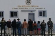 Capturados en Cajamarca por violar el aislamiento social