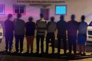 Capturados en Cajamarca