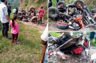 Accidente fatal en el sur del Tolima