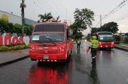 Controles en las busetas en Ibagué