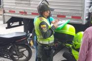 Policía ha interpuesto 565 comparendos en el Tolima