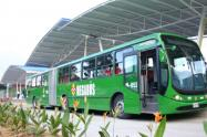 Sistema de transporte masivo Megabús