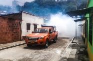Desinfectaron y fumigaron barrios de Ibagué