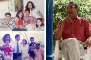 Jose A Sierra y su familia