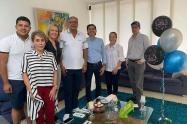 Celebración de cumpleaños de Óscar Barreto durante cuarentena