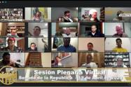 Sesión virtual Congreso