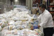 Los tolimenses más vulnerables recibirían los kits nutricionales donados por parte de la Gobernación
