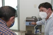 Respirador mecánico para pacientes Covid
