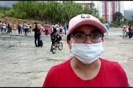 Habitantes de Boquerón y el barrio Las Ferias bloquearon vías protestando por falta de ayudas humanitarias en pandemia COVID-19
