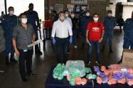 La gobernación continúa tramitando con empresarios del sector textil, la entrega de más ayudas de prevención contra el COVID 19