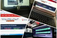 Se viene desarrollando trabajo periodístico desde las casas con el apoyo de directores y personal de producción en las emisoras