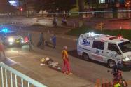 Accidente en las calles de Ibagué