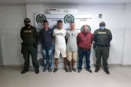 Cuatro personas capturadas en Ibagué