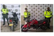 Motos recuperadas en el Tolima
